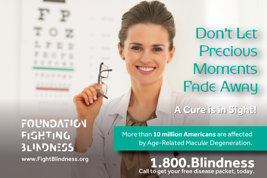 Fighting Blindness Ad 2016